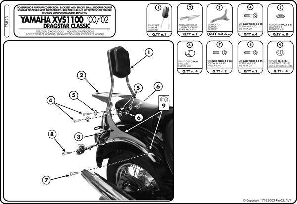 Montage instructies TS823