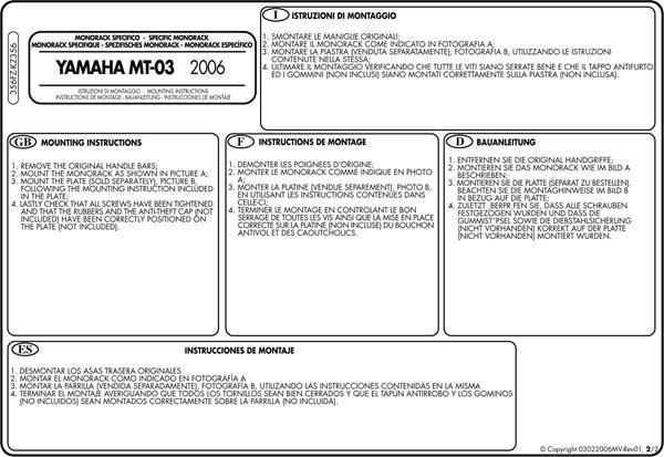 Montage instructies 356FZ -2