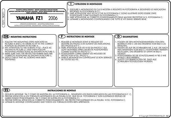 Montage instructies T271 -2
