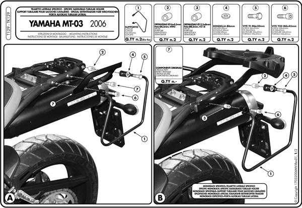 Instructions de montage T129 -1
