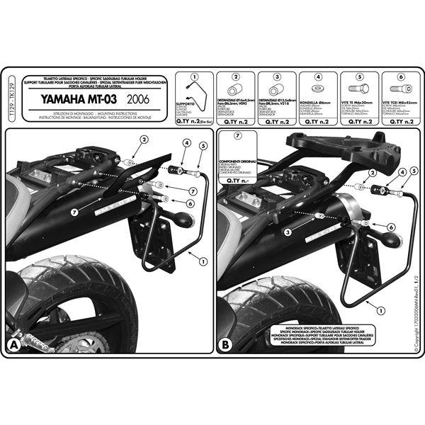 Montage instructies T129 -1
