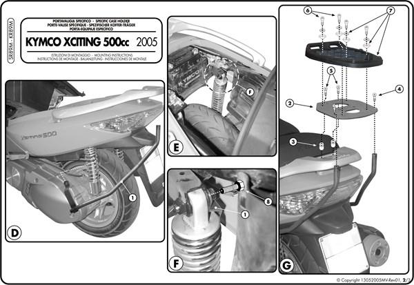 Montage instructies SR89M -2