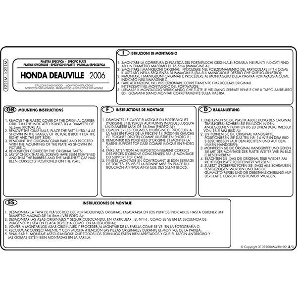 Montage instructies E221M -3
