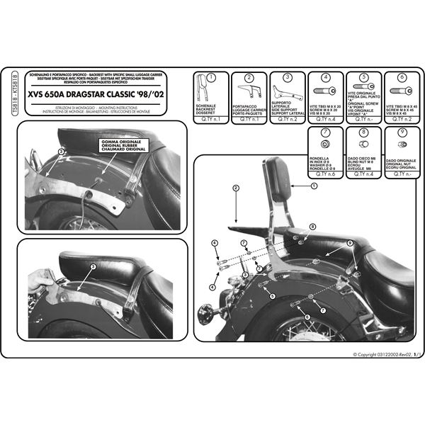 Montage instructies TS818