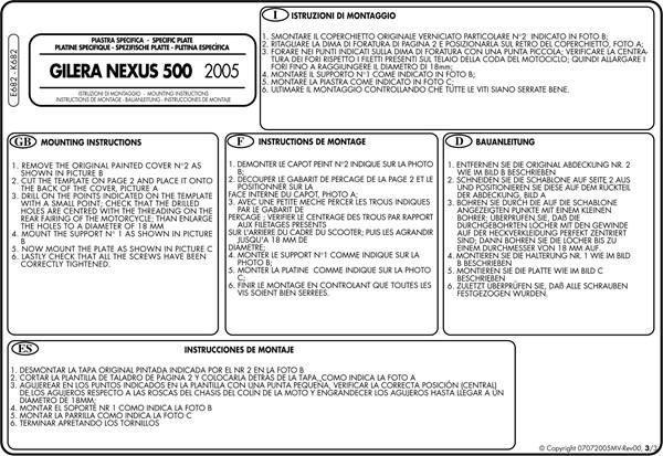 Montage instructies E682 -3