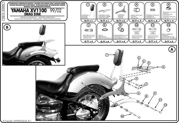 Instructions de montage TS819