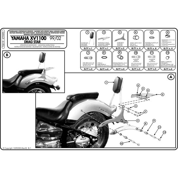 Montage instructies TS819