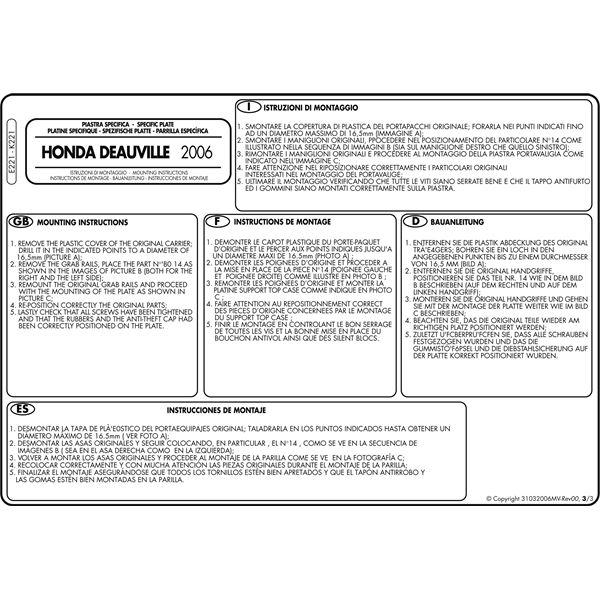 Montage instructies E221 -3