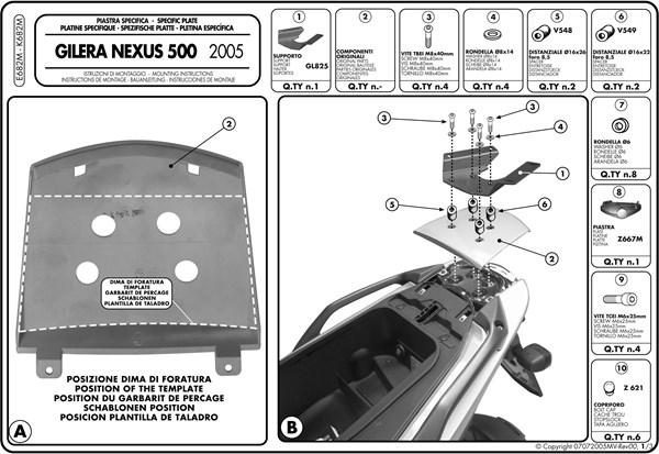 Montage instructies E682M -1