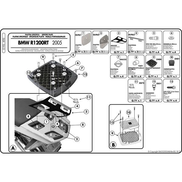 Montage instructies E193 -2