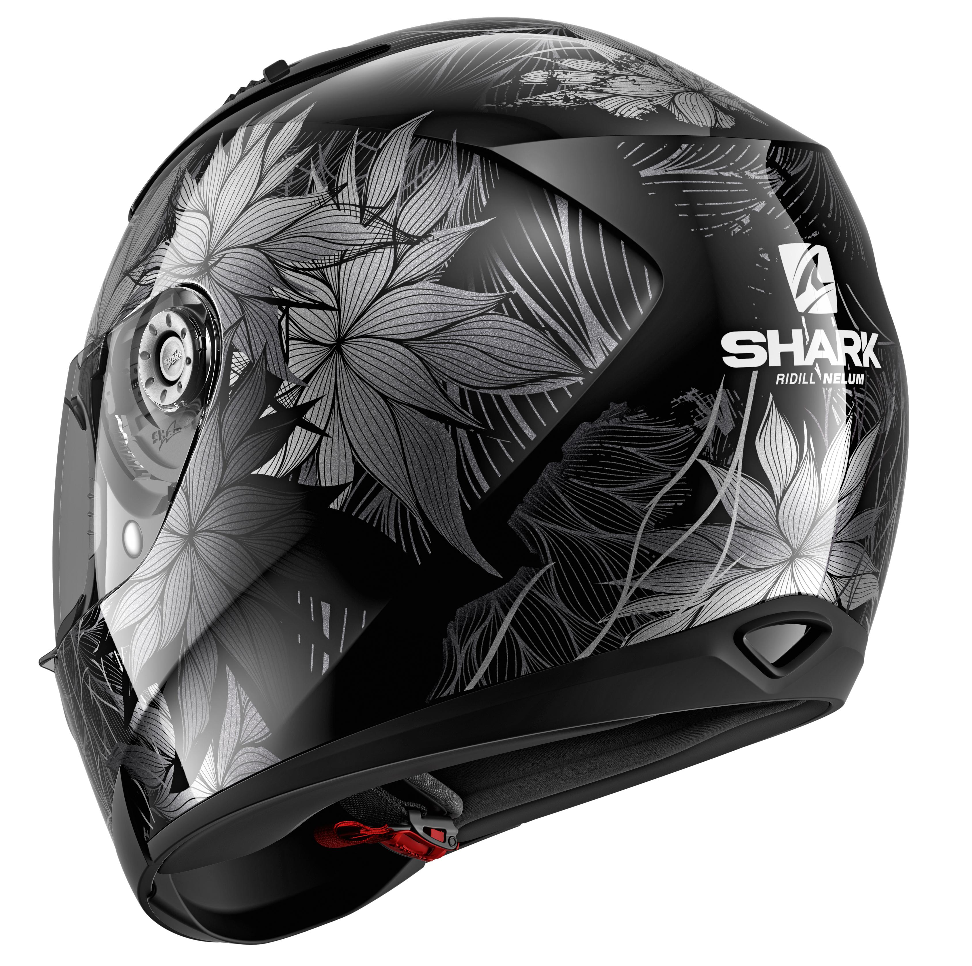 Motorcycle helmets Shark RIDILL 1.2 NELUM KSA Black//Anthracite M