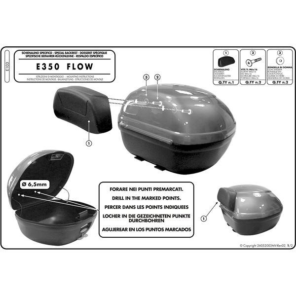 Montage instructies E103 -1