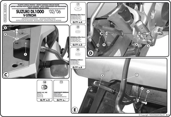 Montage instructies PLX528 -2